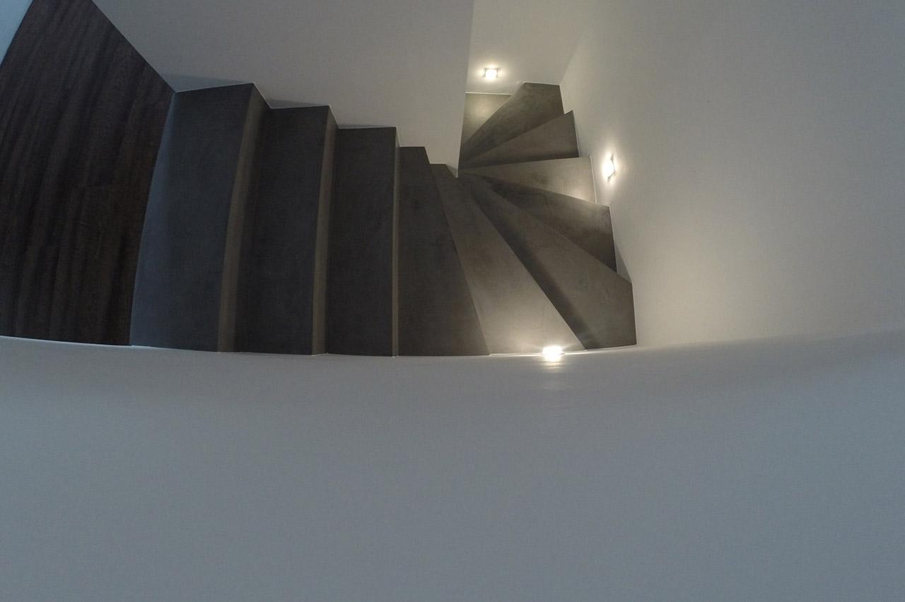 Beton Cire Treppe beton ciré bochum